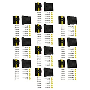 Generic Auto 8 Vie Connettore Impermeabile Terminali Per Auto Moto