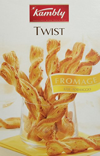 KAMBLY Twist Fromage 125 g - Lot de 5