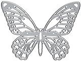 Sizzix 661182 Detaillierter Schmetterling von Tim Holtz Thinlits Stanzen Set, 4 in Packung, Stahl, Mehrfarbig, 19.1 x 14.3 x 0.3 cm