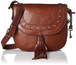 Fossil Emmy Womens Handbag (Brown)
