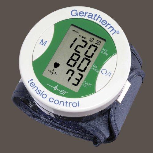 Geratherm  tensio control Digitales Handgelenk-Blutdruckmessgerät - grün