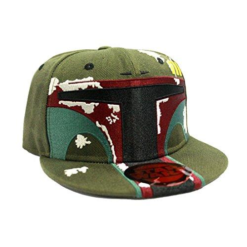 Star Wars Boba Fett Snapback-Cap (Clone Boba Star Wars Wars Fett)