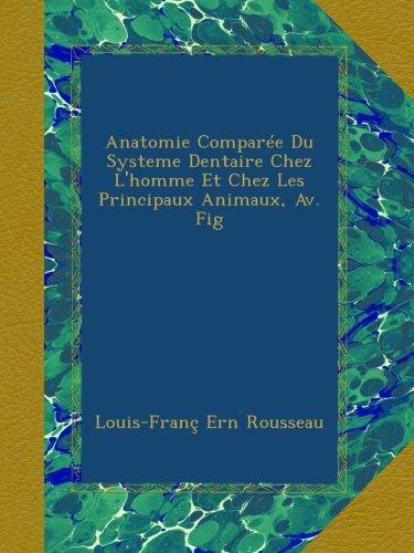 Anatomie Comparée Du Systeme Dentaire Chez L'homme Et Chez Les Principaux Animaux, Av. Fig