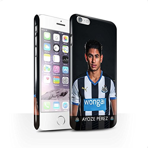 Offiziell Newcastle United FC Hülle / Glanz Snap-On Case für Apple iPhone 6S / Anita Muster / NUFC Fussballspieler 15/16 Kollektion Ayoze