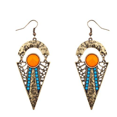 lux-accessoires-orange-et-turquoise-boucles-doreilles-pendantes