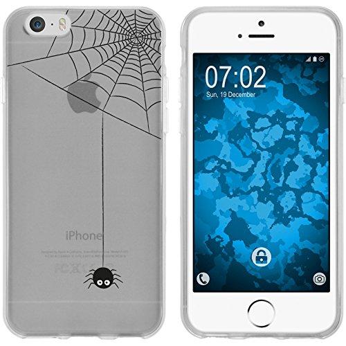 PhoneNatic Case für Apple iPhone 6s / 6 Silikon-Hülle Herbst Spukschloss M4 Case iPhone 6s / 6 Tasche + 2 Schutzfolien Motiv:03