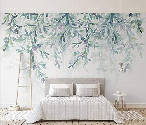 Preisvergleich Produktbild YOOMAY Beibehang benutzerdefinierte grünes blatt 3d foto tapete moderne hintergründe wand wohnzimmer sofa schlafzimmer wohnkultur wand garten,  430x300 cm (169.3 by 118.1 in)