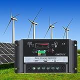 LESHP 10A/20A 12V/24V Solar Charge Controller Solar Panel Battery Regulator Auto PWM Battery Regulator