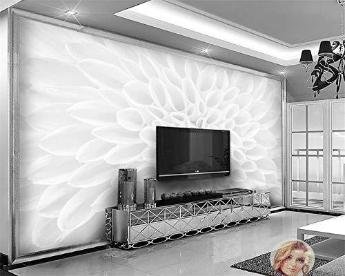 Zooyx 3d tapete Benutzerdefinierte Europäische Minimalistische Jade Carvings Tv Hintergrund Wand Sofa Wanddekoration Wandbilder -400Cmx280Cm (Le 1515 Halloween)