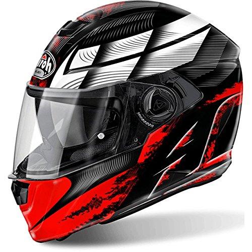 Airoh - casco moto airoh storm starter red gloss stst55 - cast3f - xxl