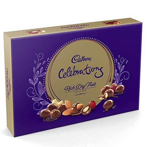 Cadbury Celebrations Rich Dry Fruit Collection, 240g