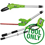 Best Green Works Power Hedge Trimmers - Greenworks 24v Long Reach Hedge Trimmer and Pruner Review
