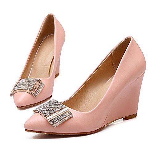 Pink Scarpe donna col Unknown tacco qvnz0aTzB