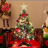 SUSICH Mini Büro Weihnachten Künstlicher Weihnachtsbaum Christbaum Party Dekoration Restaurant 50CM Tannenbaum