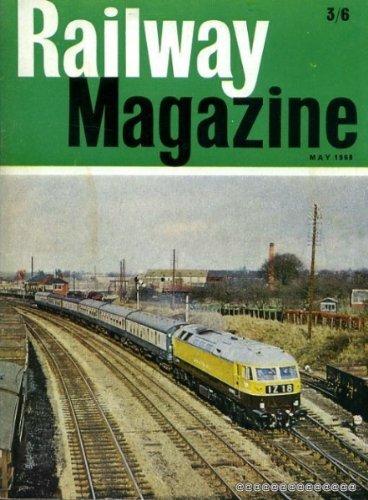 Railway Magazine volume 114, No 805 : May 1968, usado segunda mano  Se entrega en toda España