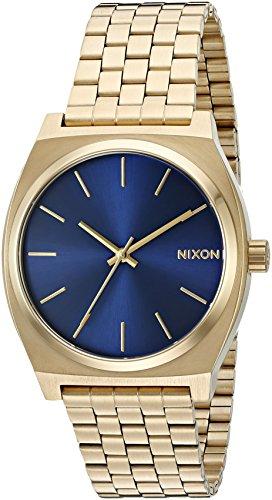 nixon-herren-armbanduhr-time-teller-analog-quarz-edelstahl-beschichtet-a0451931-00