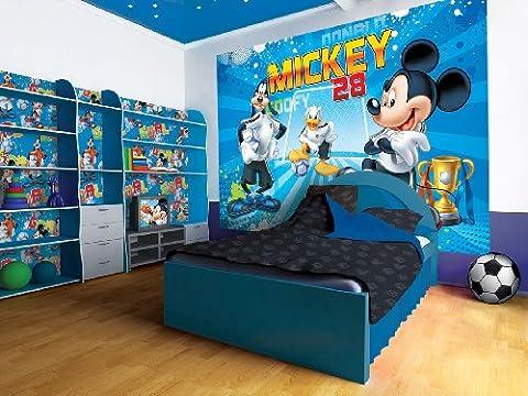 Vlies Fototapete Fototapeten Tapete Tapeten DISNEY MICKEY MOUSE & TEAM 952 VE