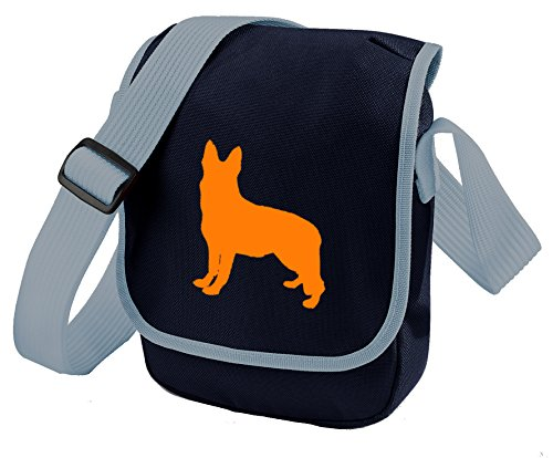 Bag Pixie - Borsa a tracolla unisex adulti Orange Dog Blue Bag