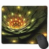 Gaming Mauspad 3d Abstract Fractal Rubber Mousepad (30 x 25 cm)   Fransenfreie Ränder   Rutschfest