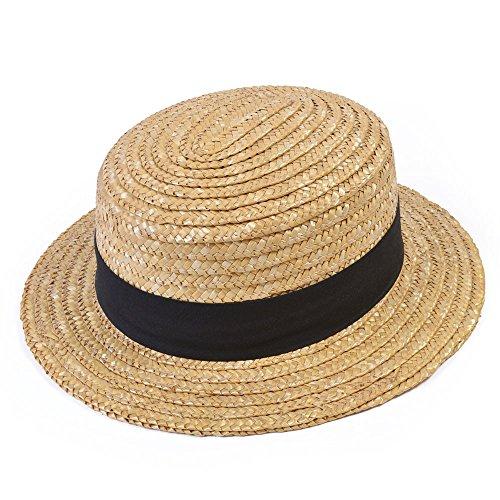 Bristol Novelty bh126Stroh Strohhut Hat, Beige, ONE ()