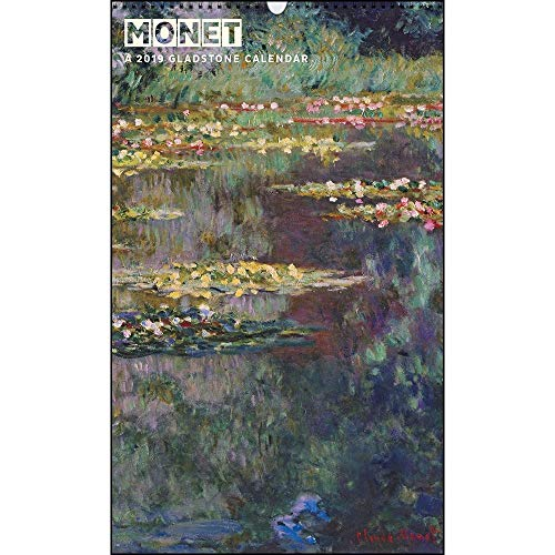 2019Monet Big Bild Kalender (Gladstone Kalender)