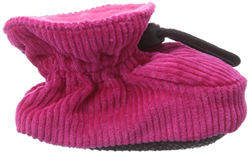 MOVE Booties Cotton Corduroy, Hausschuh - Krabbelschuh, Baby Mädchen Krabbelschuhe Pink (525/pink)