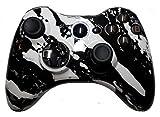 Xbox 360Blau Hydro Eingetaucht/Modding Rapid Fire Controller/Sniper Quick Scope/Drop Shot/Schnelle Ziel/Zombies Auto Ziel/, Imitieren/Burst/für Dorsch/Modern Warfare/Black Ops/Gears of War und mehr/weiß LEDs/Custom-Tasten
