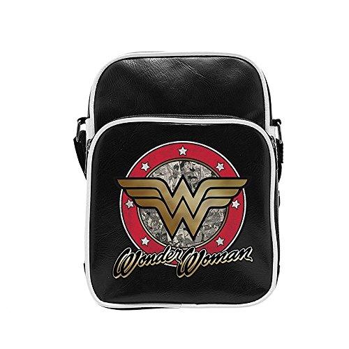 DC Comics - Wonder Woman - Schultertasche - Messenger Tasche - Logo (Erwachsene Batman Hoodie Kostüme)