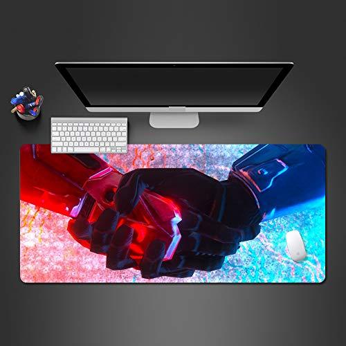 Kreative Hand Insel Wald mauspad hochwertigen Gummi waschbar Spieler pad Computer Tastatur Maus Spiel Kunst tischset 800x300x2 - Wald Polster
