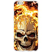 Ooh.Color 024694_ fsc011cráneo muerte Zombie Horror con patrón suave de silicona TPU Bumper para Apple iPhone 6/6s 11,9cm (4,7pulgadas), transparente