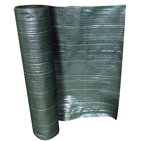telo pacciamatura l. 100 mt. h. 1,05 mt. lineari pacciamante antialga antierbacce (verde)