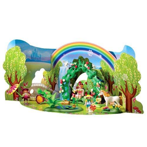 Playmobil-4158-Adventskalender-Einhorn-im-Feenland