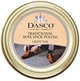 Dasco Traditional Wax shoe polish - Light Tan