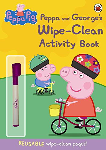 Peppa And George's Wipe-Clean Activity Book (Peppa Pig)