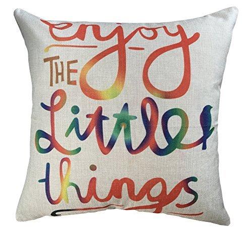 do4u-inspirational-cotton-linen-canvas-square-enjoy-little-things-pattern-sofa-simple-cushion-pillow