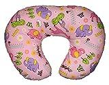 #8: Montu Bunty Nursing Feeding Pillow with Cotton Slipcover (5 in 1) - A Boppy Alternative (Pillow 31)