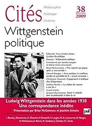 Citeé 2009 N 38 Wittgenstein politique