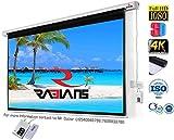 #3: RADIANS Motorised Remote Control Projector Screen (4x6 feet)