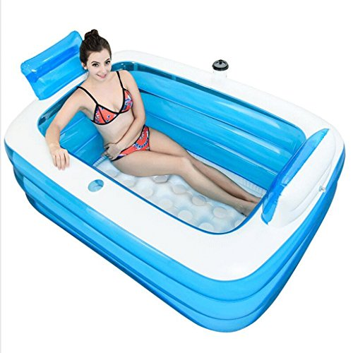 La baignoire se pliante augmentent l'épaississement de la baignoire gonflable en plastique de baignoire de Bath de bulle de Bath, Bath Barrel (1.6m)