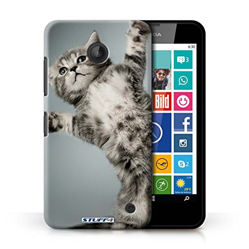 kobaltr-imprime-etui-coque-pour-nokia-lumia-635-high-five-conception-serie-chatons-mignons
