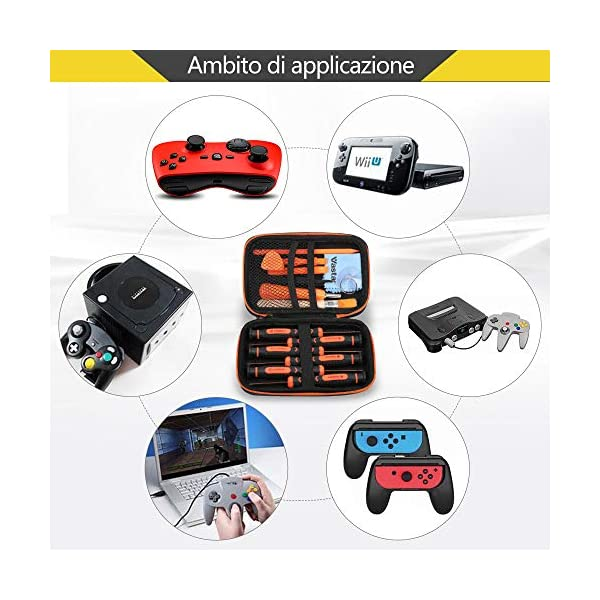 Vastar-Cacciavite-per-Nintendo-17in1-Kit-cacciaviti-Triwing-professionale-Compatibile-per-Nintendo-SwitchJoyConNew-3DS-XL-2DS-WiiNESSNESDS-LiteGameboy-Advance