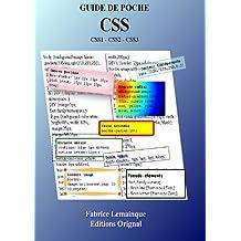 Guide de Poche CSS (CSS1-CSS2-CSS3)