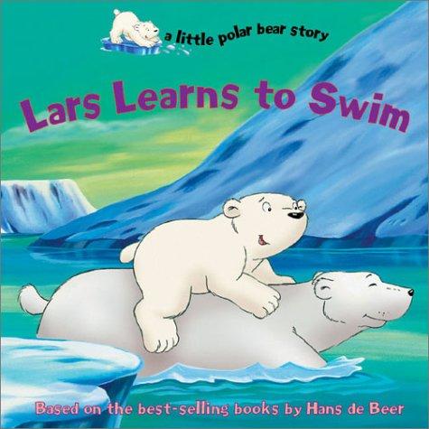 Lars learns to swim