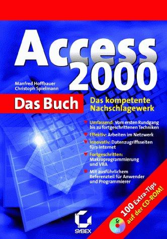 Das Access 2000 Buch, m. CD-ROM