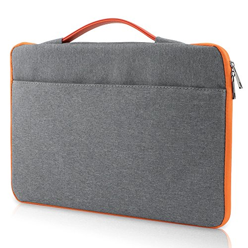 Allinside Grau Oxfürd Stoffhülle Voller Schutz für Macbook Pro 15 Zoll mit/ohne Retina und Neue Macbook Pro 15 Zoll mit Touch Bar