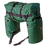Trailmax Original Saddlebags, Satteltasche Western Packtasche, grün