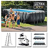 INTEX Kit piscine Ultra XTR rectangulaire 5.49 x...