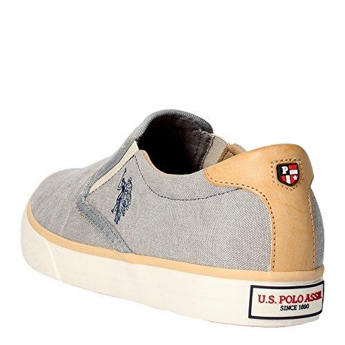 U.s. Polo Assn GALAN4154S5/CL3 Slip-on Schuhe Herren Stoff Grau LkZjV5T5pK