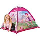 Childrens Play Tent - Fairy Playset : Easy Assembly Girls Pink Toy Play Tent / Playhouse / Den by Kiddus