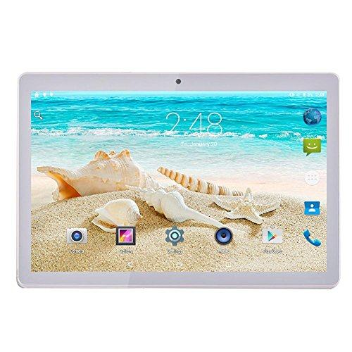 Paradesour Noomai 10 Pulgadas 3G HD Phablet Android 7.0 Tarjeta SIM Dual...